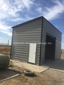 #6239 Box Eave Lean Too Fully Enclosed