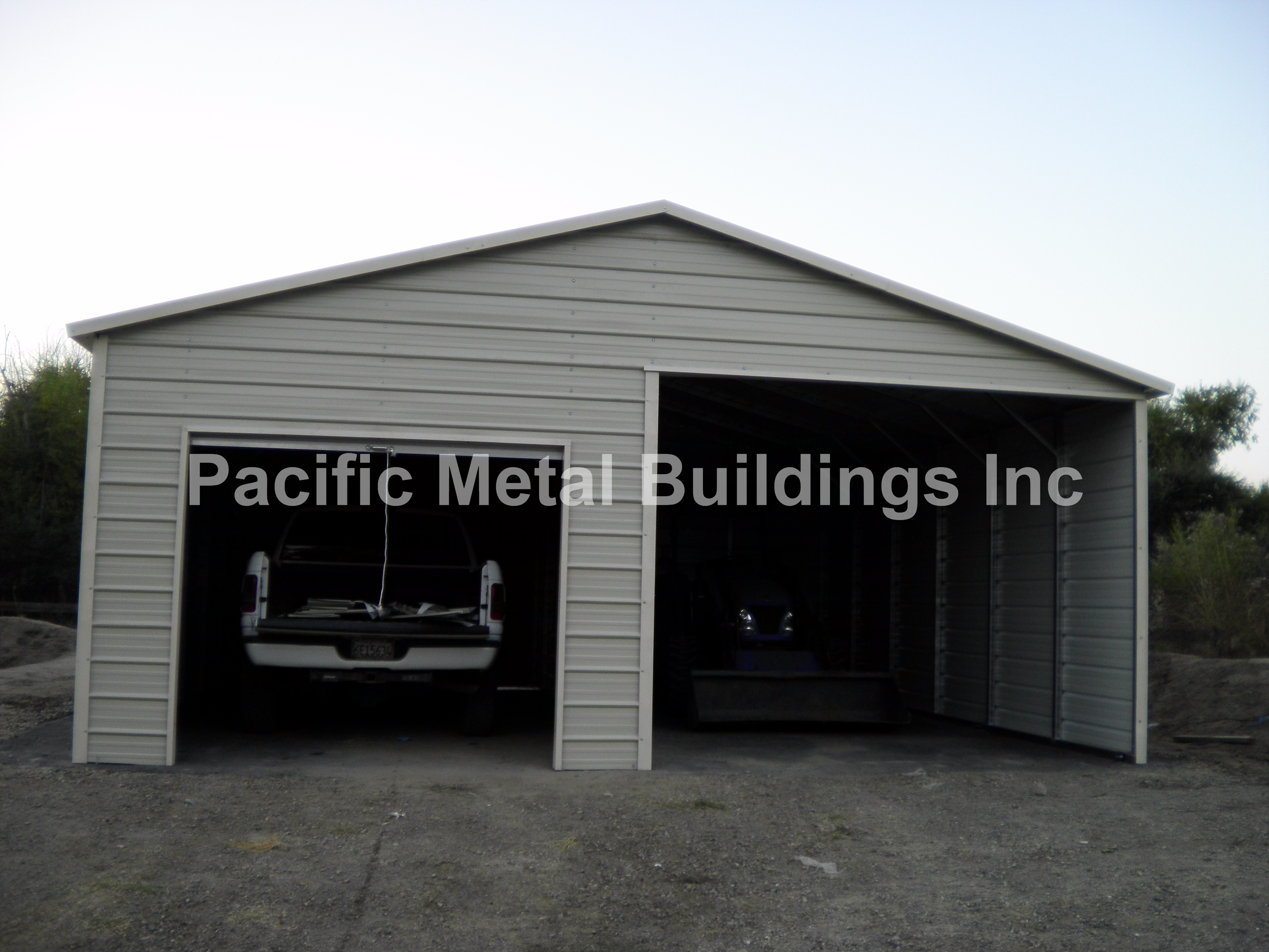 Boxed Eve Style Carports : Boxed eve style professional engineered buildings